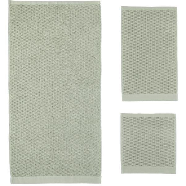 Rhomtuft - Handtücher Baronesse - Farbe: jade - 90