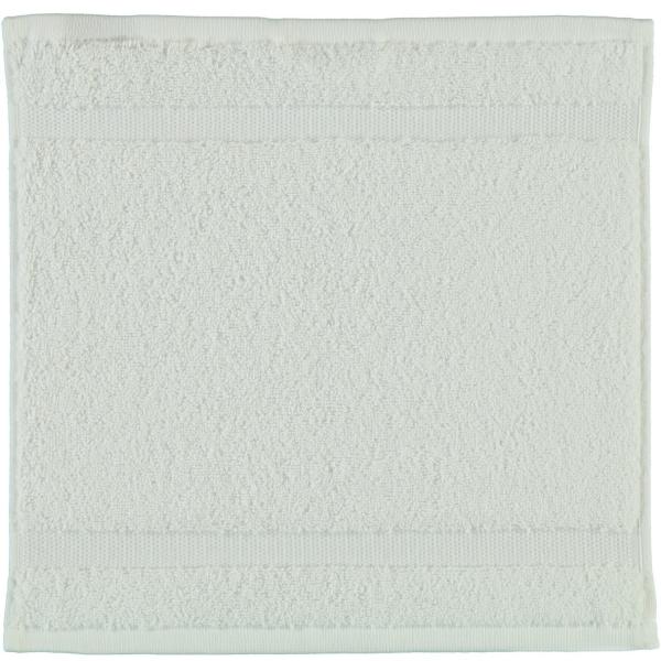 Rhomtuft - Handtücher Princess - Farbe: weiss - 01 Seiflappen 30x30 cm