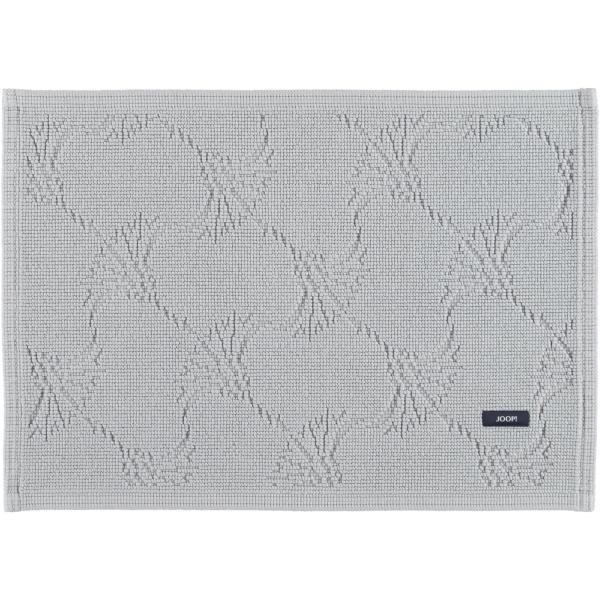 JOOP! - Badteppich New Cornflower 60 - Farbe: Silber - 026 50x70 cm