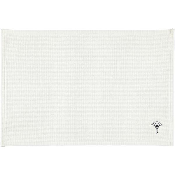JOOP! Badematte Cornflower Single 55 - Farbe: Weiß - 001 60x90 cm
