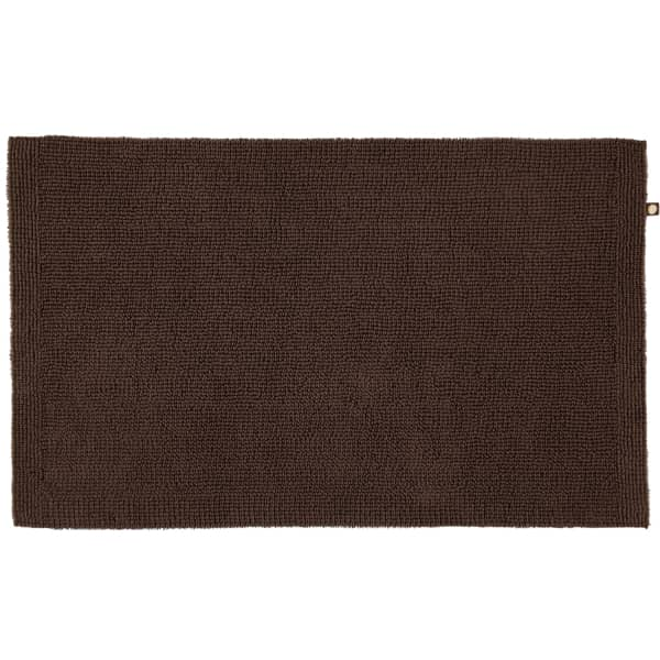 Rhomtuft - Badteppich Pur - Farbe: mocca - 406 60x100 cm