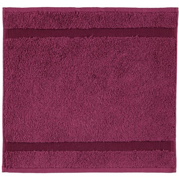 Rhomtuft - Handtücher Princess - Farbe: berry - 237 Seiflappen 30x30 cm