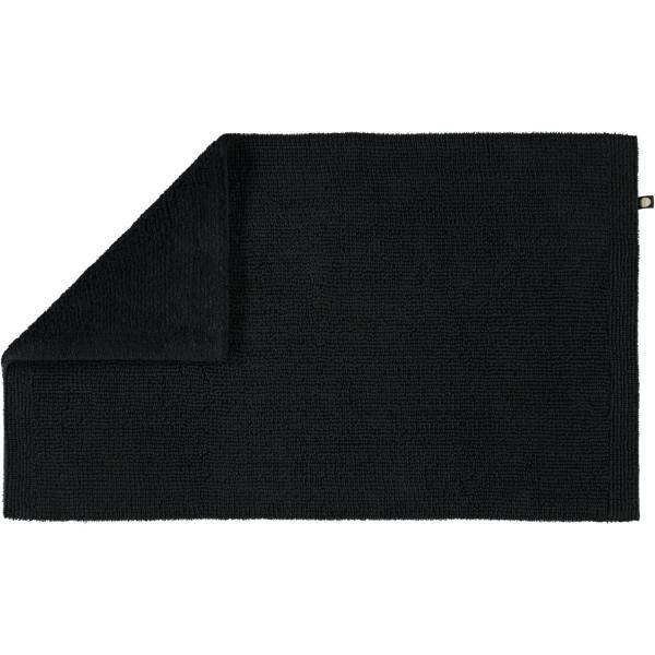 Rhomtuft - Badteppich Pur - Farbe: schwarz - 15 60x100 cm